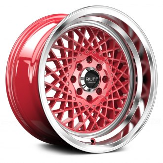 RUFF RACING® - R362 Red with Machined Lip