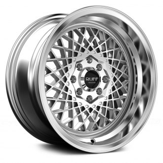 RUFF RACING® - R362 Silver with Machined Lip