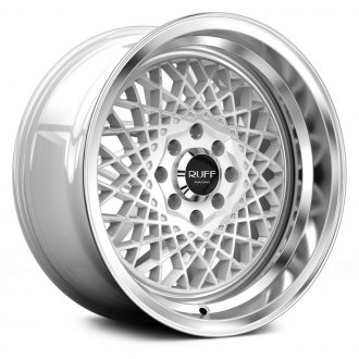 RUFF RACING® - R362 White with Machined Lip