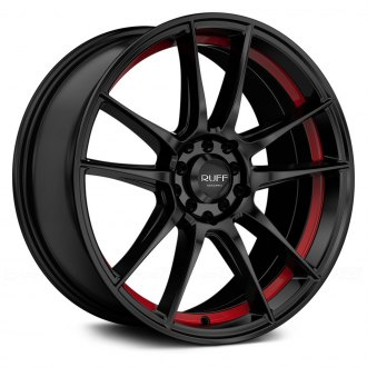 RUFF RACING® - R364 Satin Black with Red Undercut