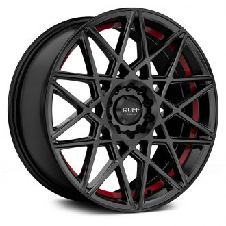 RUFF RACING® - R365 Satin Black with Red Undercut