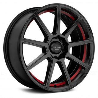 RUFF RACING® - R366 Satin Black with Red Undercut