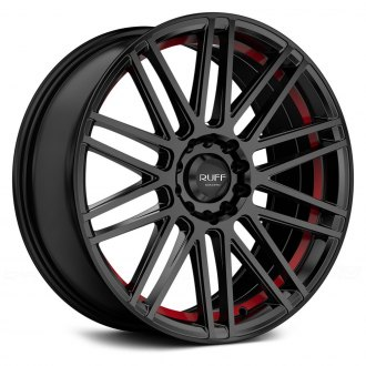 RUFF RACING® - R367 Satin Black with Red Undercut