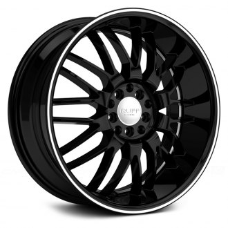 RUFF RACING® - R951 Black with Machined Pinstripe and Undercut