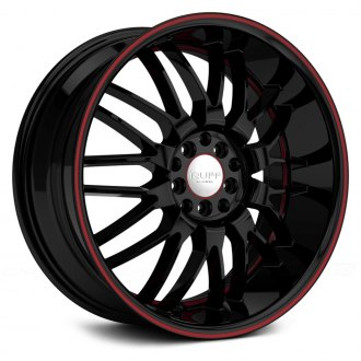 RUFF RACING® - R951 Black with Red Pinstripe and Undercut