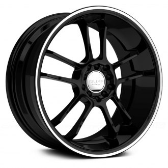 RUFF RACING® - R952 Black with Machined Pinstripe and Undercut