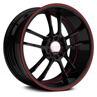 RUFF RACING® - R952 Black with Red Pinstripe and Undercut
