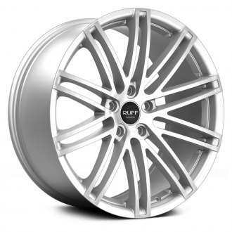 RUFF RACING® - R955 Silver with Machined Face