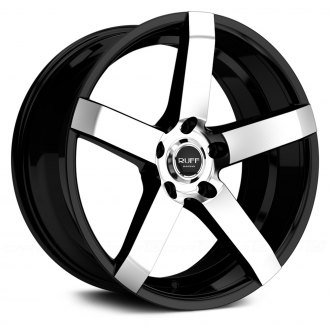 RUFF RACING® - R956 Black with Machined Face
