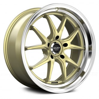 RUFF RACING® - R958 Gold with Machined Lip