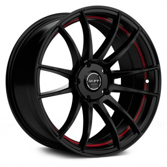 RUFF RACING® - R959 Gloss Black with Red Undercut