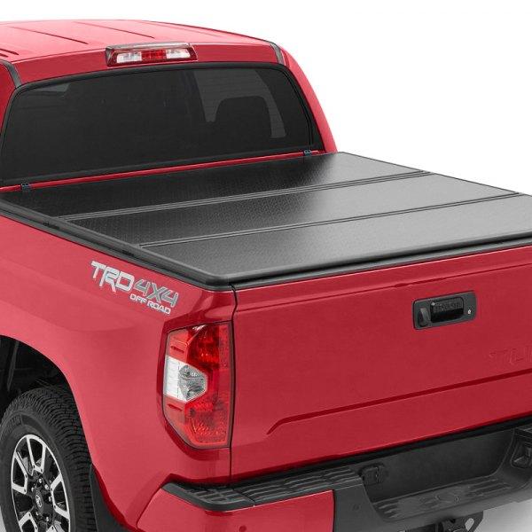 Rugged Liner Toyota Tundra 6 4 76 5 Bed 2000 Premium Hard Folding Tonneau Cover
