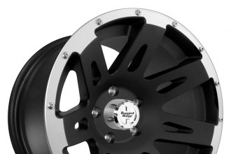 RUGGED RIDGE® - XHD Satin Black with Machined Flange