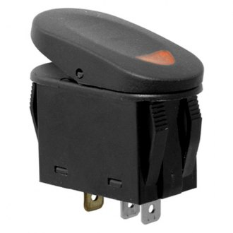 Rugged Ridge® - Two Position Switch, Amber Indicator Light