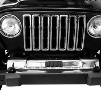 Rugged Ridge® - Polished Front Frame Cover