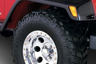 Rugged Ridge® 11630.10 - All Terrain Fender Flare Kit