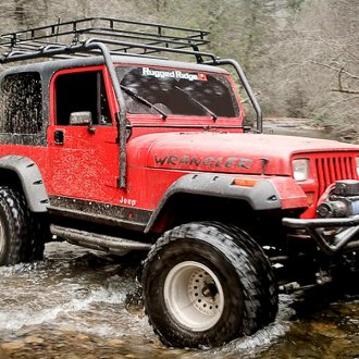 Rugged Ridge® - Front and Rear Fender Flares