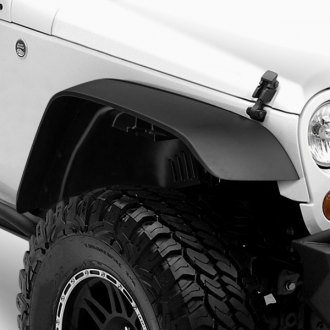 Rugged Ridge® - All Terrain Black Fender Flares Kit