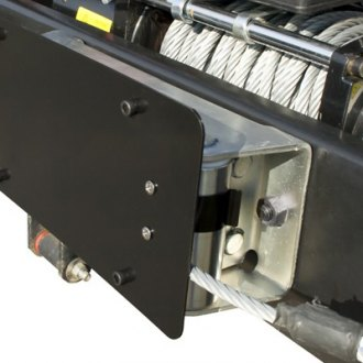 Rugged Ridge® - Fairlead Mount License Plate Bracket