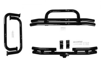 "Rugged Ridge® 11501.02 - 3"" Tube Bumper and Side Step Kit"