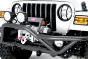 Rugged Ridge® - RRC Front Bumper, Textured Black