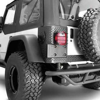 Rugged Ridge® - RRC Rear Bumper