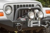 Rugged Ridge® - XHD Winch Mount Front Bumper with Optional Add Ons (Sold Separately)