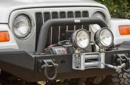 Rugged Ridge® - XHD Winch Mount Front Modular Bumper System