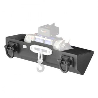 Rugged Ridge® - XHD Winch Mount Front Bumper
