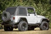 Rugged Ridge® - XHD Rear Bumper, with Tire Carrier (Sold Separately)