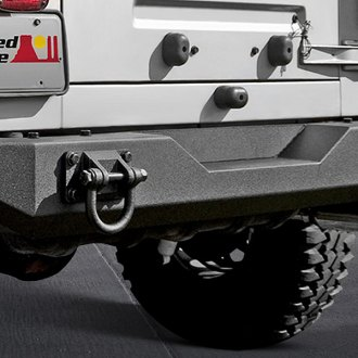 Rugged Ridge® - XHD Full Width Rear HD Bumper with D-Rings