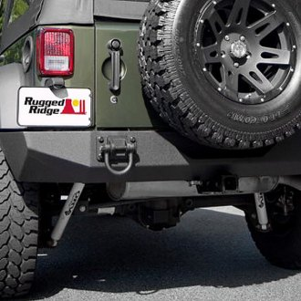 Rugged Ridge® - XHD Rear Bumper