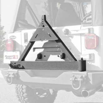 Rugged Ridge® - Tire Carrier Add On for XHD Rear Bumper