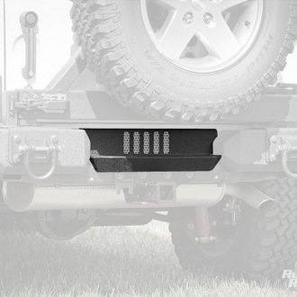 Rugged Ridge® - Alumunium XHD Rear Bumper Step