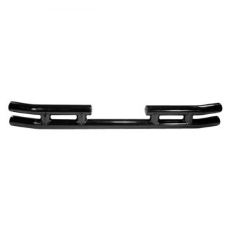 Rugged Ridge® - 3 Tube Rear Bumper (W/O Hitch Receiver, Black)