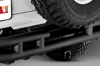 "Rugged Ridge® 11570.04 - 3"" Tube Rear Bumper"