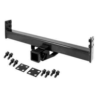 Rugged Ridge® - 2 Tow Hitch Receiver Add On for XHD Rear Bumper