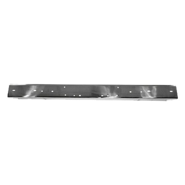 Rugged Ridge® - Front Bumper, without Holes, Stainless Steel