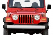 Rugged Ridge® - Front Bumper, OE Style, Stainless Steel
