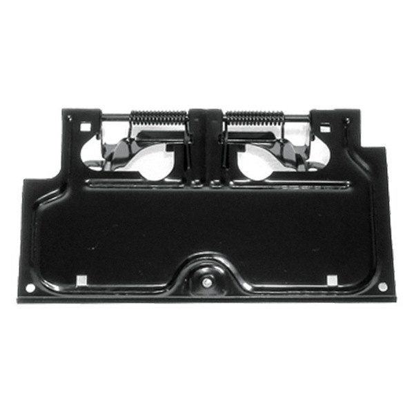 Rugged Ridge® - License Plate Bracket (Black)