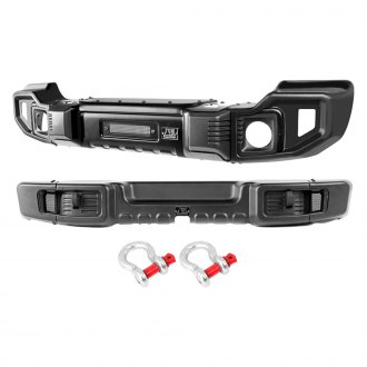 Rugged Ridge® - Front and Rear Spartacus Bumper Set