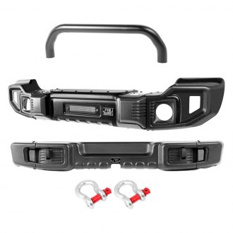 Rugged Ridge® - Front and Rear Spartacus Overrider Bumper Set
