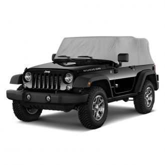 Rugged Ridge® - Water Resistant Gray Cab Cover