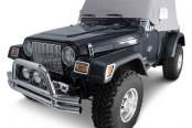 Rugged Ridge® - Water Resistant Cab Cover, Gray