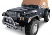 Rugged Ridge® - Water Resistant Cab Cover, Spice