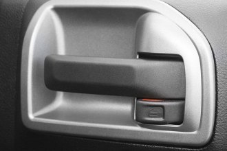 Rugged Ridge® - Silver F Door Latch Trim