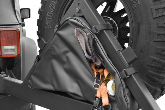 Rugged Ridge® 12801.50 - Tire Carrier Recovery Bag