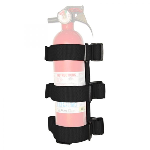 Rugged Ridge® - Sport Bar Fire Extinguisher Holder (Black)