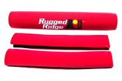 Rugged Ridge® - Neoprene Door And Grab Handle Covers (Red)