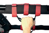 Rugged Ridge® - Ultimate Grab Handles (Red)